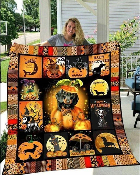 PHT1709 - Halloween - Did Somebody Say Treat - Blanket