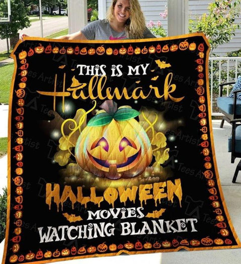 PHT1709 - Halloween - I'm A Retired Nurse - Blanket