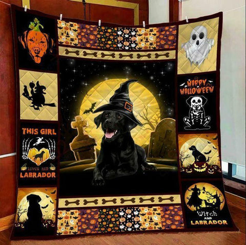 PHT1709 - Halloween - I'm A Powerful Cat - Blanket
