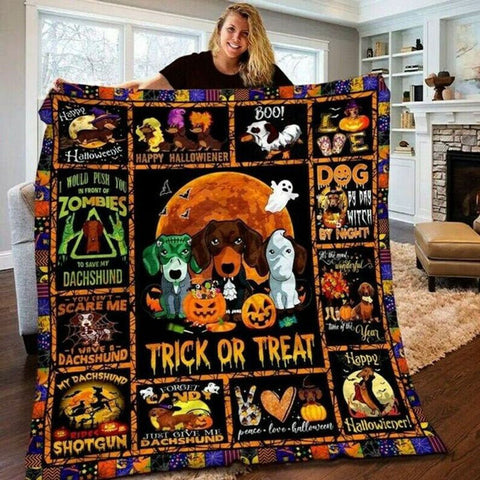 PHT1709 - Halloween - Gonna Pick You - Blanket