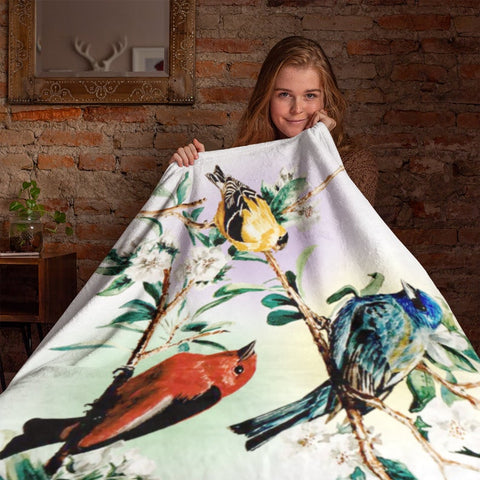 PHT1709 - Halloween - This Way Comes - Blanket