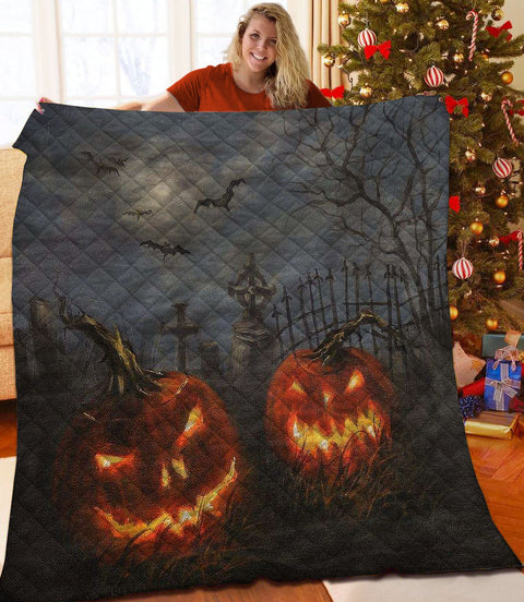 PHT1809 - Halloween - We Are Waiting For You - Blanket