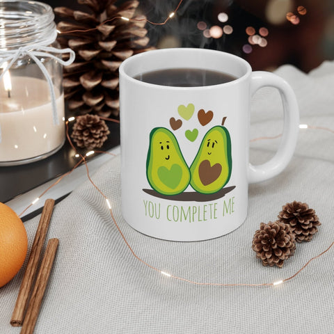 Valentine gift - MP3001 - Cute Avocado You Complete Me - Mug