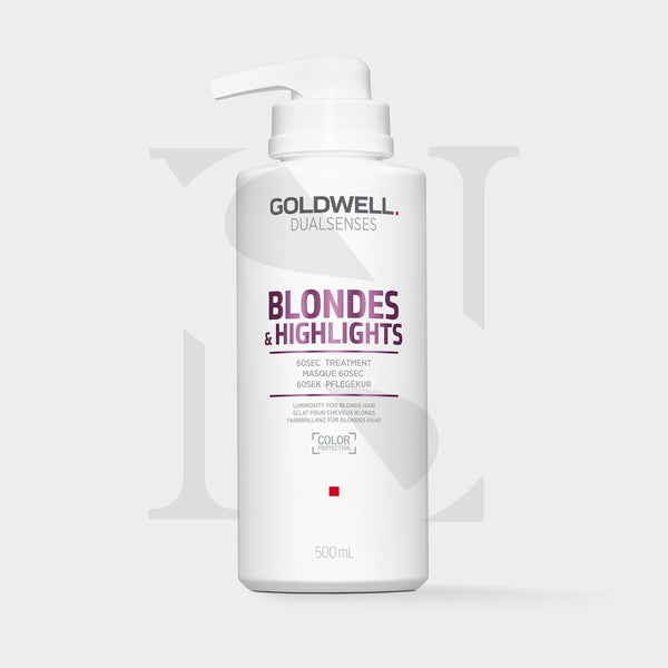 Goldwell Dualsenses Blonde & Highlights Anti-Yellow 60Sec Treatment