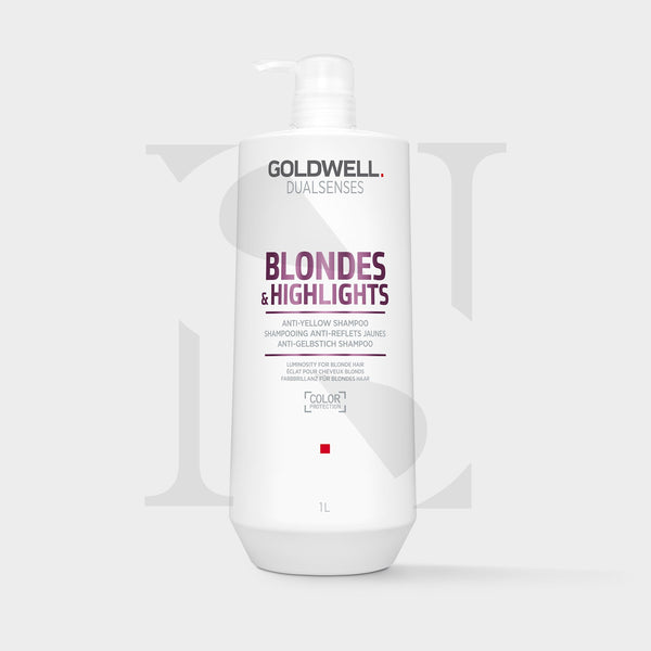 Goldwell Dualsenses Blonde & Highlights Anti-Yellow Shampoo