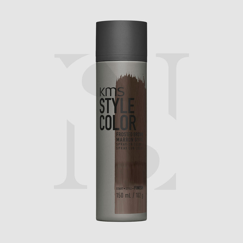 KMS Style Color Frsoted Brown 150ml