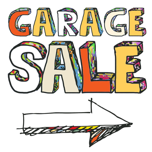 Stamp & Scrap Garage Sale July 9th - 11th 2021