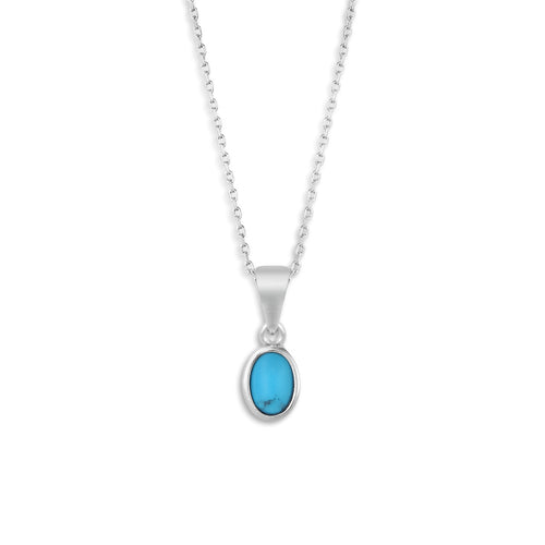 The Giving Necklace - Turquoise