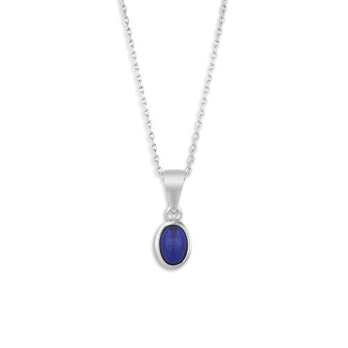The Giving Necklace - Lapis Lazul