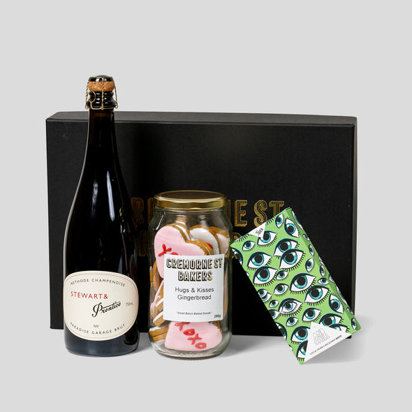 Cremorne Street Hampers - Lovers Delight Valentine's Day Hamper (With Victorian Sparkling)