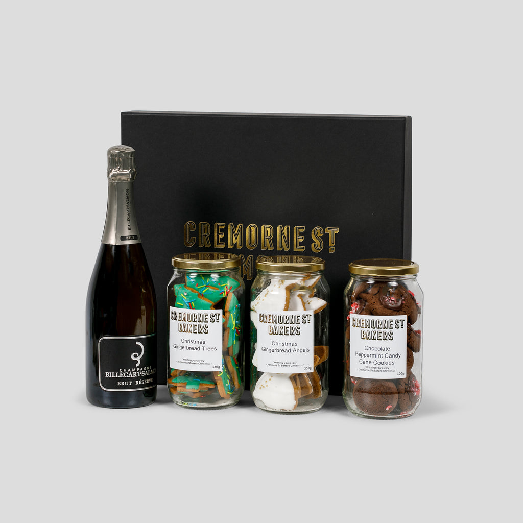 Cremorne Street Hampers - Festive Treats (With French Champagne)