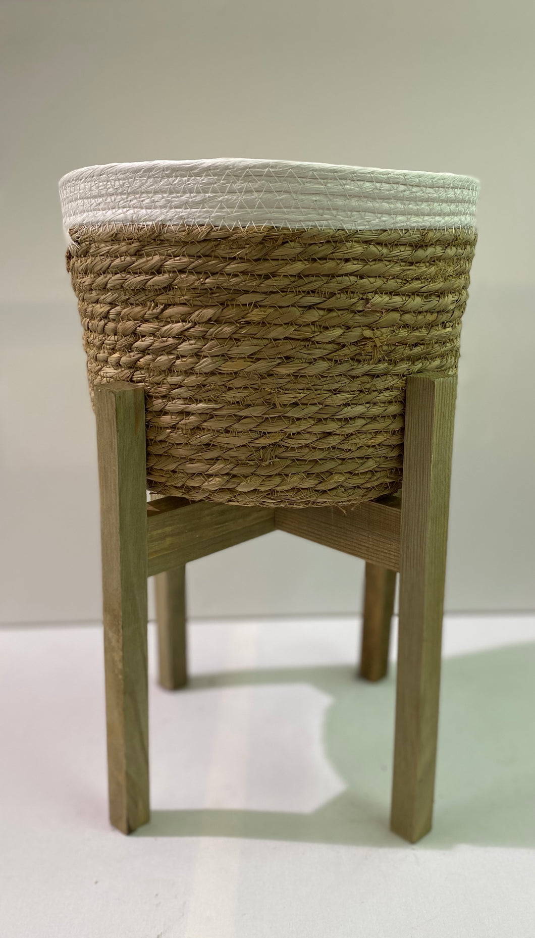 Planter Basket on Stand - Small