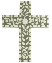 Load image into Gallery viewer, Hepburn Resin Cross Green