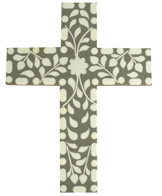 Hepburn Resin Cross Green