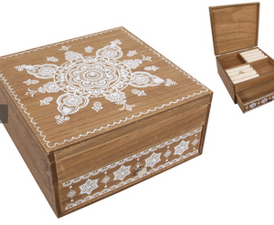Boho Mandala Jewellery Box