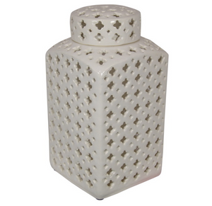 30CM SQUARE MORROCAN GINGER JAR (STORE PICK UP ONLY)