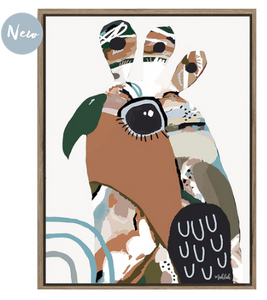The Artist Lab - Inkheart - Birdie Cream - 70x90 (Store pick up only)