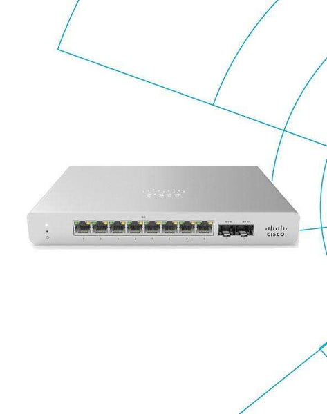 Switch Meraki MS120-8FP Enterprise License