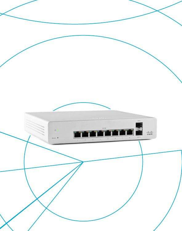 Switch Meraki MS220-8P Enterprise License