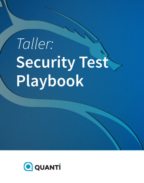 Security Test Playbook
