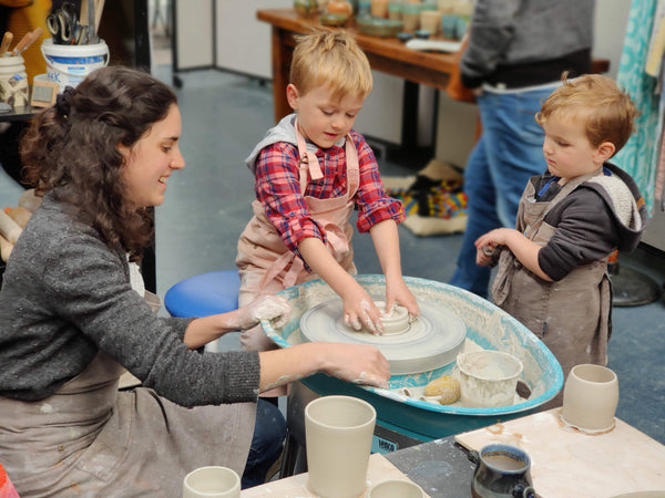 Little Potters Classes + Workshops