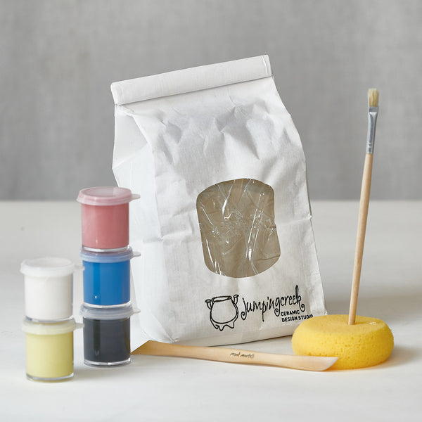 DIY Kids Clay Pack w Online Class