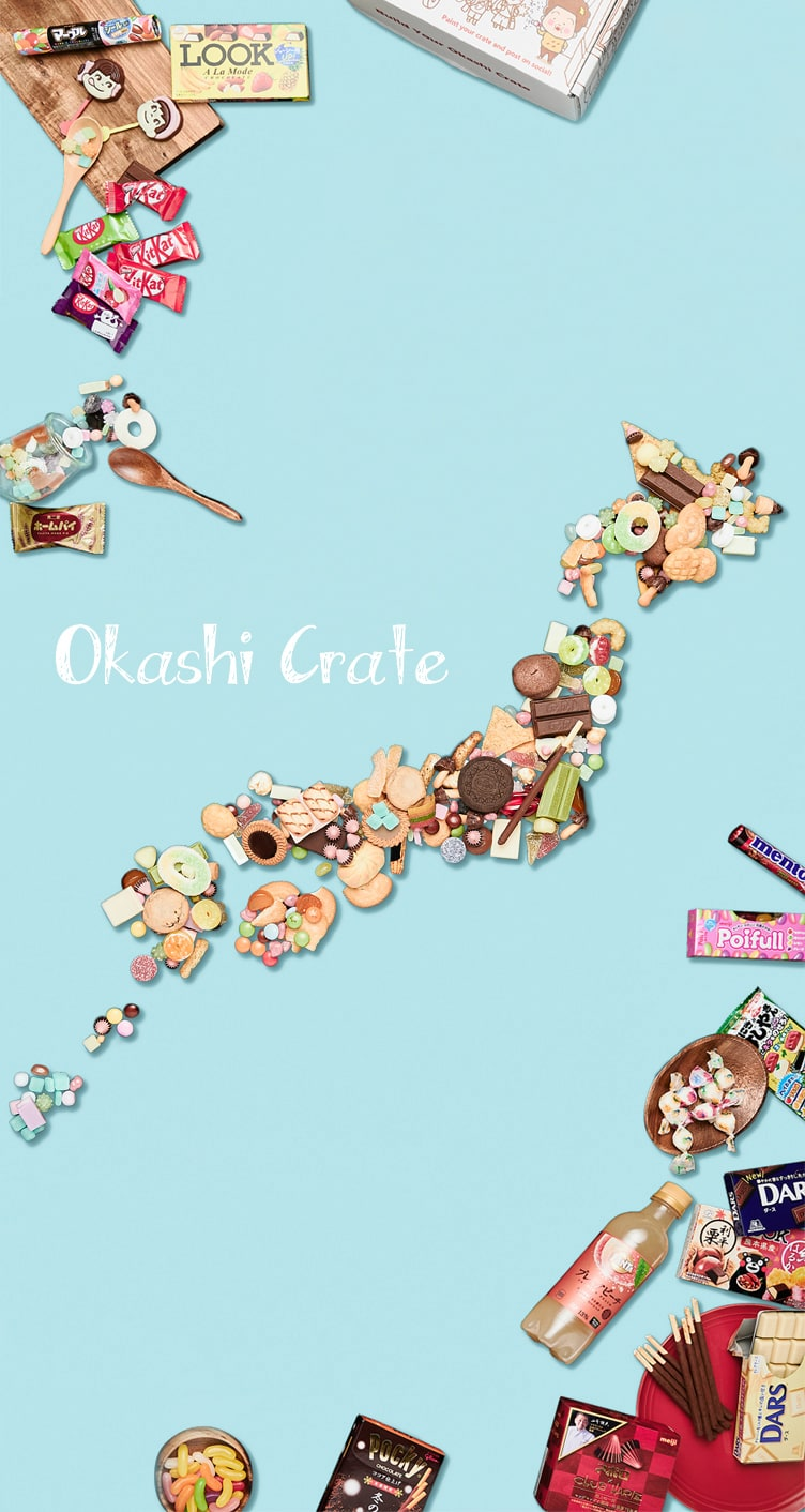 Okashi Crate –Japan Snack & Candy Box Subscription