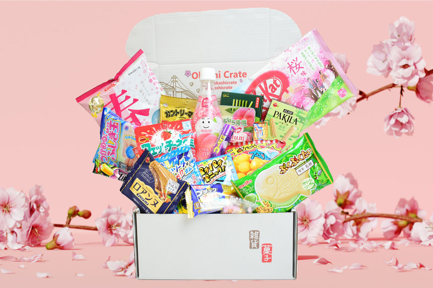 Past Crate April 2021: HELLO OKASHI!