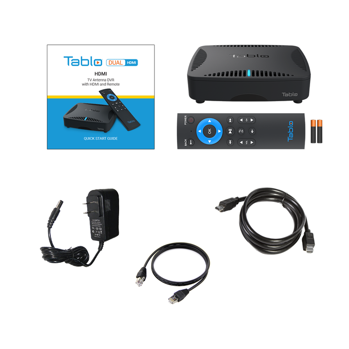 Tablo DUAL HDMI Over-the-Air DVR