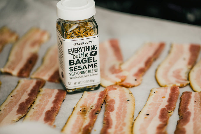 Everything but the Bagel Bacon (Now its Keto)