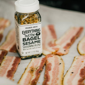 Everything but the Bagel Bacon (Keto)