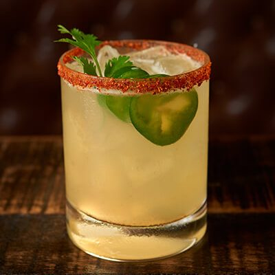 Spicy Margarita (Black Barrel Tequila Bacon)