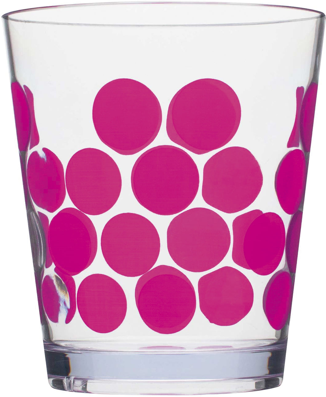Zak! Designs Dot Dot - Drinkbeker - 41 cl - Fuchsia