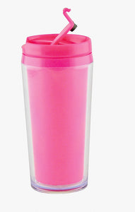 Zak!Designs - Hot Beverage Drinkbeker - Dubbelwandig - Fuchsia