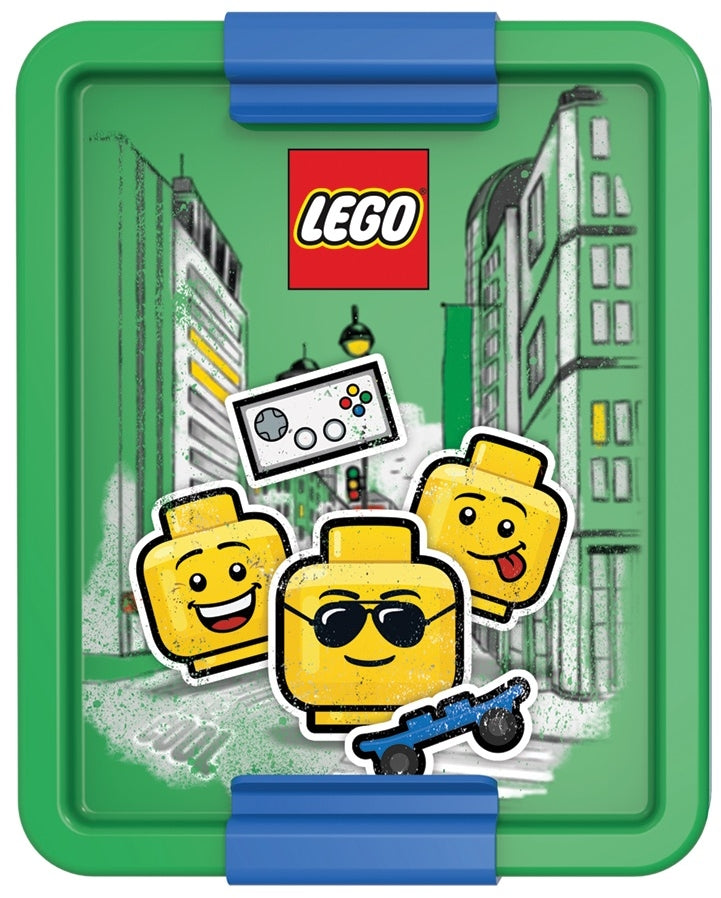 Lego Iconic Lunchbox Boy - Groen