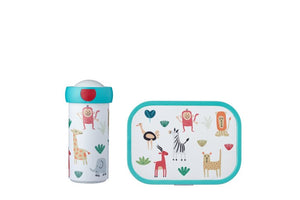 Mepal  Lunchset Campus (schoolbeker en lunchbox) - Animal Friends