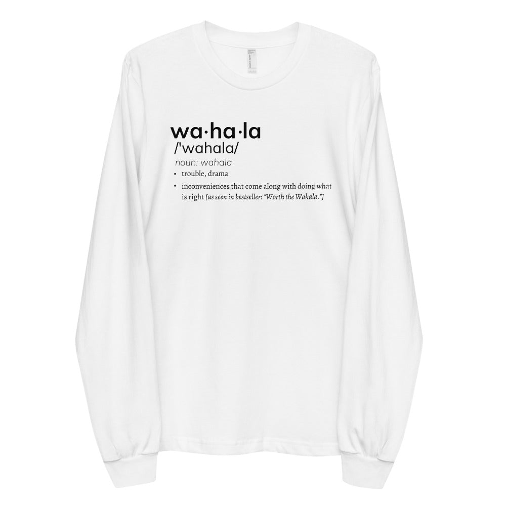 Wahala x Defined Long sleeve t-shirt [Unisex]