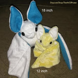 12 Inch Bat Plushie - Custom Colors