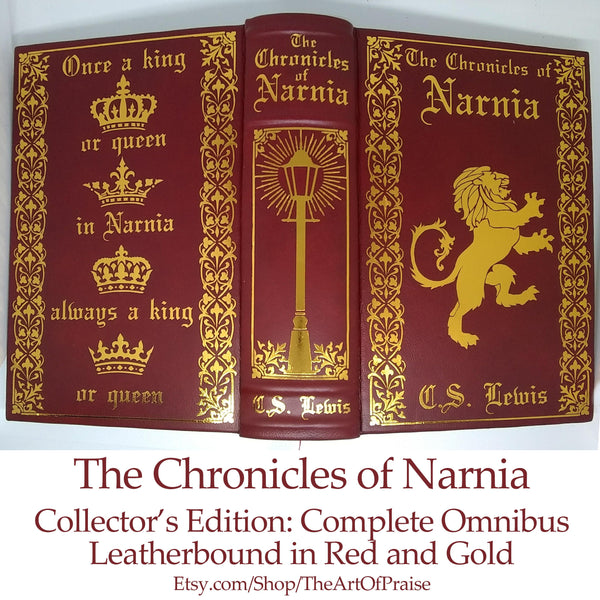 Leatherbound Chronicles of Narnia: One Volume Edition