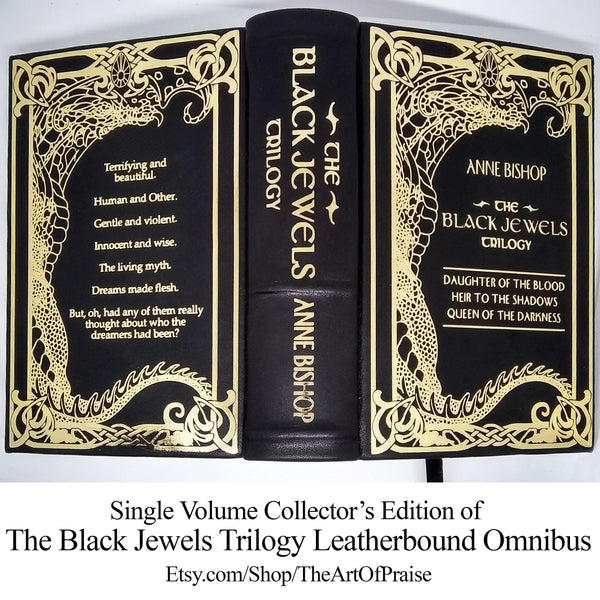 Leatherbound Collector's Edition Omnibus of The Black Jewels Trilogy by Anne Bishop