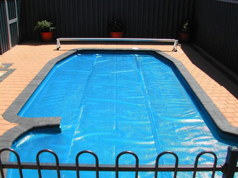 12' x 24' Rectangular Heat Wave Solar Blanket Swimming Pool Cover - Blue
