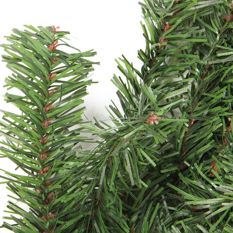 "100' x 14"" Commercial Length Canadian Pine Artificial Christmas Garland - Unlit"