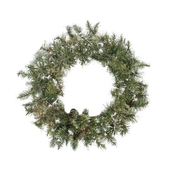 Snow Mountain Pine Artificial Christmas Wreath - 30-Inch, Unlit