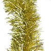 "50' x 4"" Gold Tinsel Artificial Christmas Garland - Unlit"