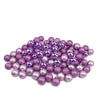 "96ct Purple Shatterproof 4-Finish Christmas Ball Ornaments 1.5"" (40mm)"