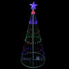 4' Multi-Color LED Lighted Show Cone Christmas Tree Outdoor Decoration