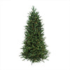6.5' Pre-Lit PE/PVC Mixed Pine Multi-Function Artificial Christmas Tree- w/ Remote Control -Clear/Multi