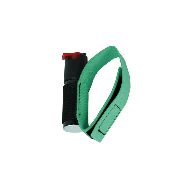 Style PP13 - Pepper Spray with Jogger and Cyclist Strap - Green (0.5 oz)