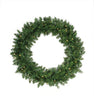 Pre-Lit Buffalo Fir Artificial Christmas Wreath - 36-Inch, Warm White LED Lights