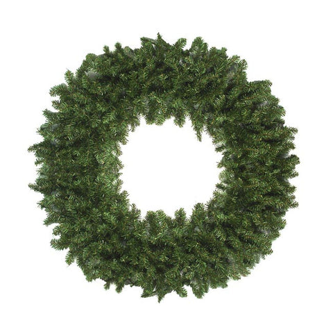 12' High Sierra Pine Commercial Artificial Christmas Wreath - Unlit